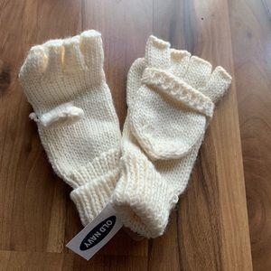 Old Navy fingerless mittens